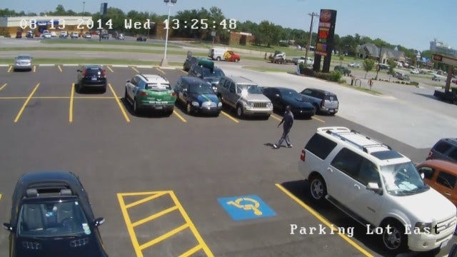 WEB EXTRA: OKC Police Look For Man Who Robbed Woman At Gunpoint