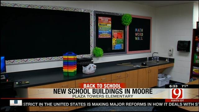 Moore Elementary Students Go Back To School On Tuesday