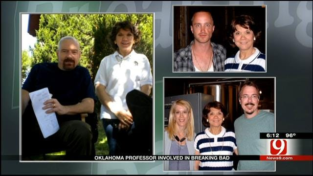 Red Dirt Diaries: OU Professor Involved In 'Breaking Bad'
