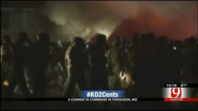 My 2 Cents: A Change In Command In Ferguson, MO