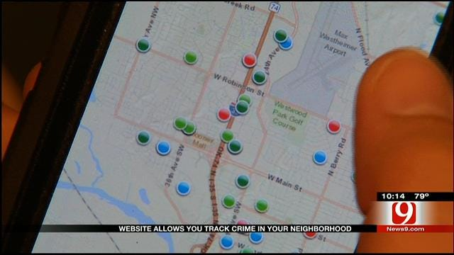 Website Helps Residents Track Crime In Norman
