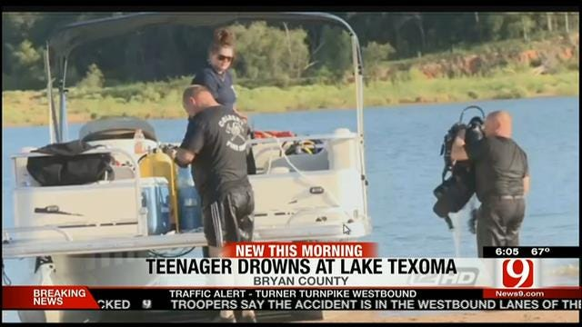 Teenager Drowns In Lake Texoma