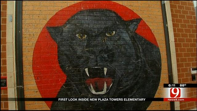 First Look Inside New Plaza Towers Elementary