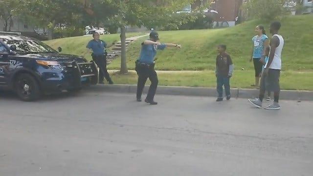 WEB EXTRA: Kansas City Officer Caught On Camera Losing Dance-Off