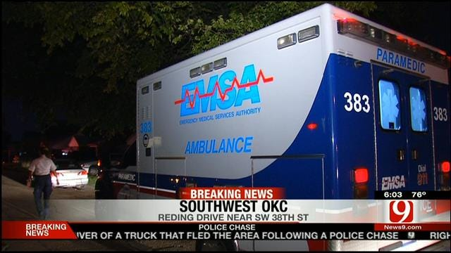 Police Investigate After Woman Shot In Foot In SW OKC
