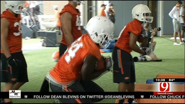 OSU Holds First Scrimmage Of Practice