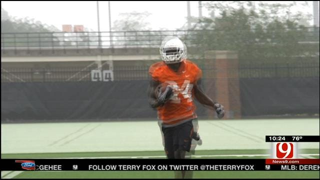 Oklahoma State Goes Through Saturday Scrimmage