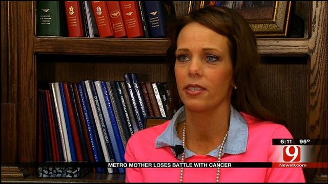 Metro Mother Loses Battle With Cancer