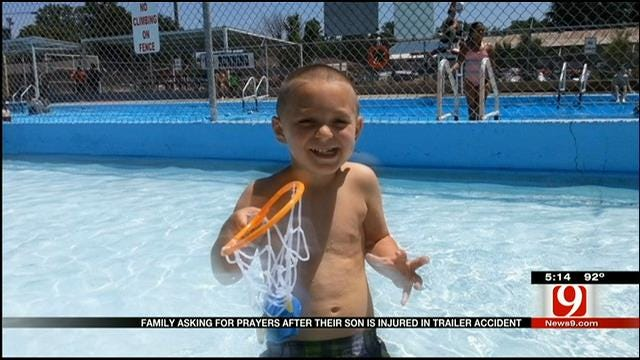 3-Year-Old Boy Fights For His Life After Accident