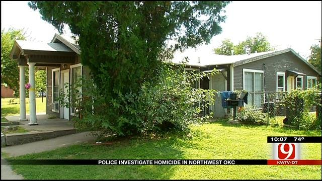 Police Investigate Homicide In NW Oklahoma City