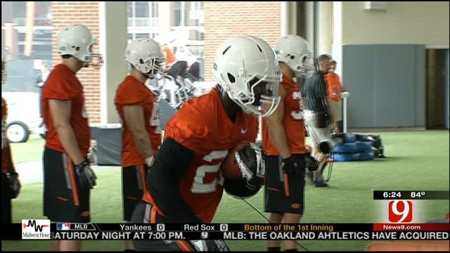 Oklahoma State Opens Up Fall Practice