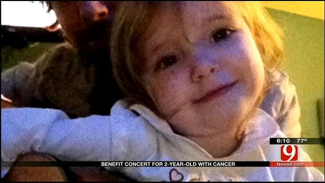 Norman Music Community Hosts Benefit Concert For 2-Year-Old With Cancer