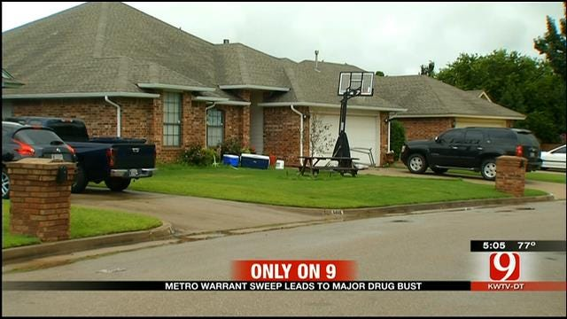 Metro Warrant Sweeps Leads To Major Drug Bust
