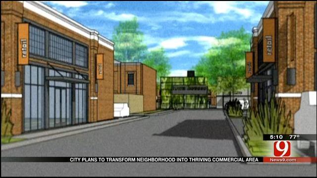 "City Seeks To Transform ""Blighted"" OKC Neighborhood"