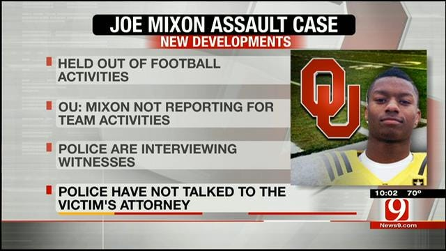 Joe Mixon Suspended From Football Activities At OU