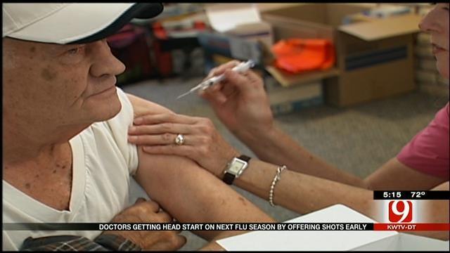 Doctors Getting A Head Start On Upcoming Flu Season