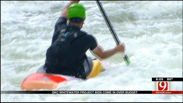 OKC Whitewater Project Bids Come In Over Budget