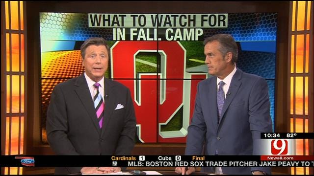Oklahoma Begins Preseason Camp With High Expectations