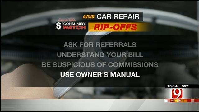 Consumer Watch: Avoiding Car Repair Rip Offs