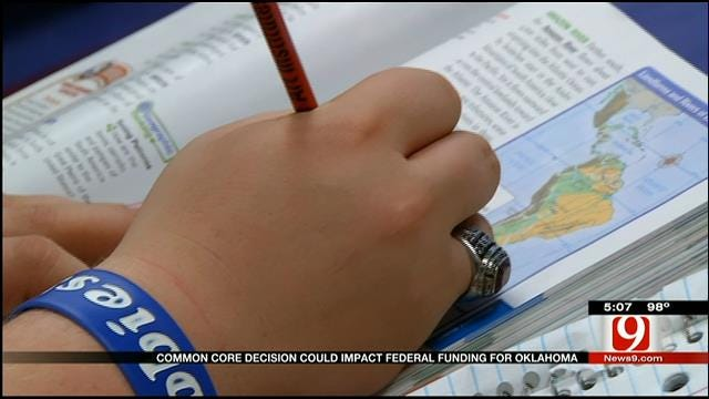 Common Core Decision Could Impact Federal Funding For Oklahoma