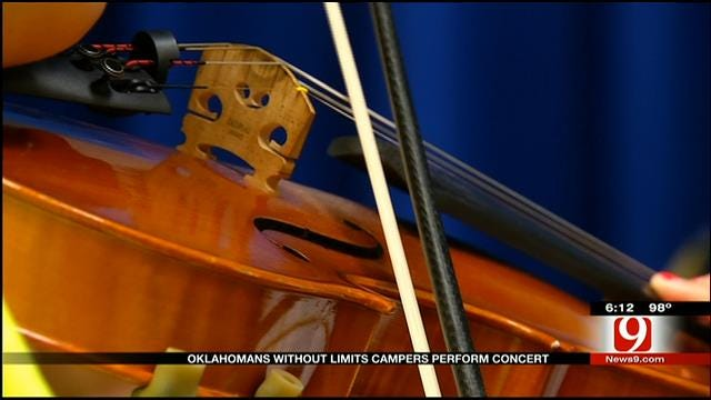 Oklahoma Camp Teaches Vision-Impaired Kids How To Play Music