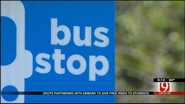 OKCPS Partnering With Embark To Give Free Rides To Students