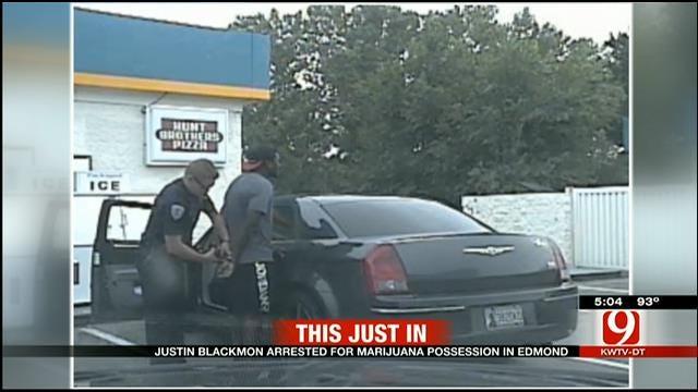 Former OSU Football Player Justin Blackmon Arrested For Marijuana Possession