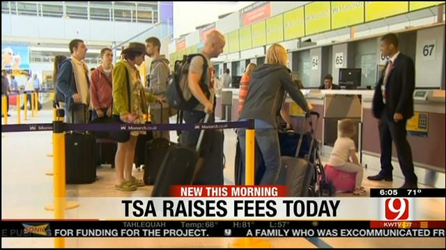 TSA To Increase Security Fee On Plane Tickets On Monday