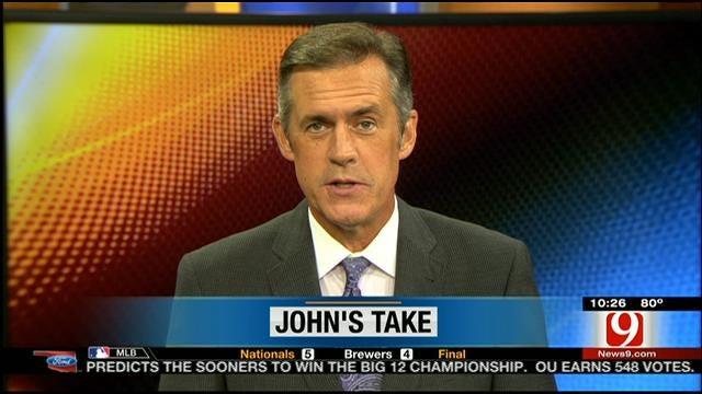 John's Take On Some Odd Timing