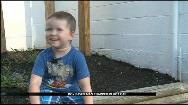 Tenn. Boy, 3, Saves Man Trapped Inside Hot Car