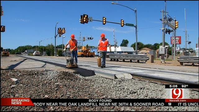 Train Track Construction Causing Concerns For Commuters