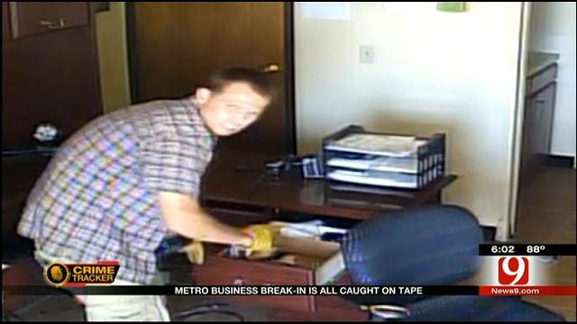 Metro Business Break-In Caught On Tape