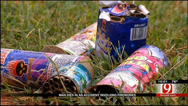 Oklahoma Man Dies In Accident Involving Fireworks