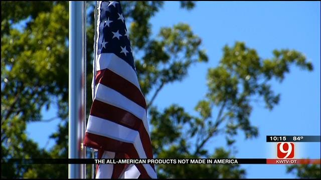 Some American Themed Products Are Actually Not Made In America