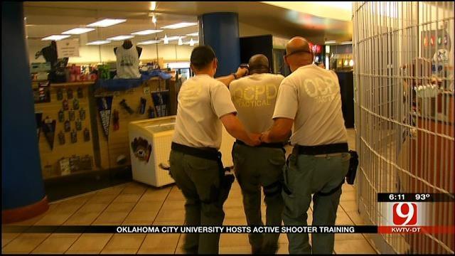 Oklahoma City University Hosts Active Shooter Training