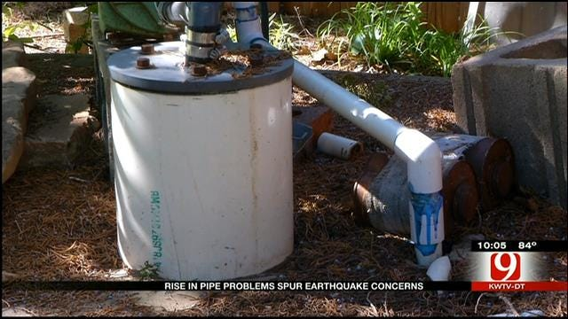 Rise In Pipe Problems Spur Earthquake Concerns