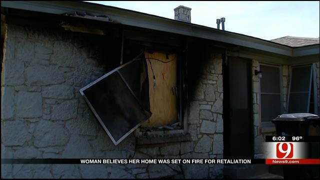 House Fire In Northeast Oklahoma City Ruled Arson
