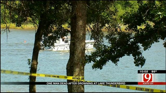 Officials Recover Body From Lake Thunderbird