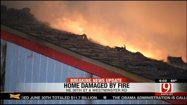 Fire Destroys Spencer Home Early Thursday Morning