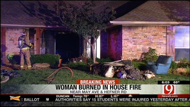 E-Cigarette Charger Sparks OKC Home Fire; Woman Burned