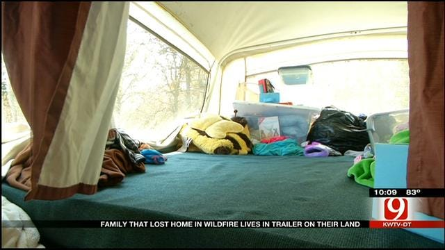 Guthrie Family Lives In Pop Up Trailer After Massive Wildfire