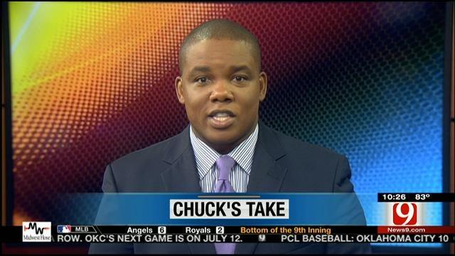 Chuck's Take On The Thunder's Draft