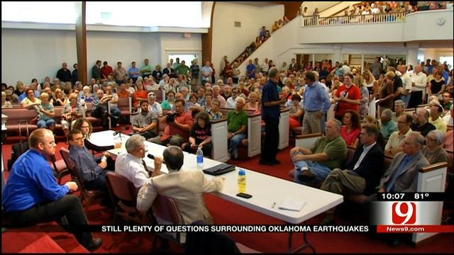 Residents Still Have Questions After Earthquake Town Hall Meeting