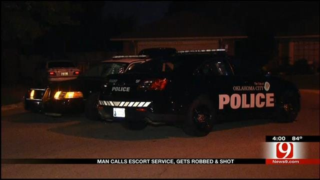 Oklahoma Man Shot And Robbed After Calling Escort Service