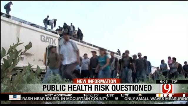 Doctors: Undocumented Children In Fort Sill May Pose Health Risks