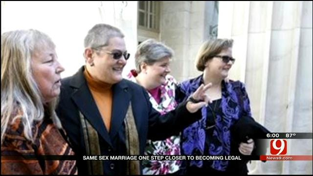 Same Sex Marriage One Step Closer To Becoming Legal