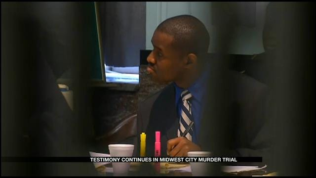 Day 2 Of Testimony In Midwest City Murder Trial Of Fabion Brown