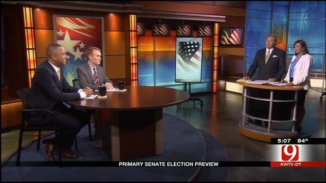 Oklahoma Primary Senate Election Preview