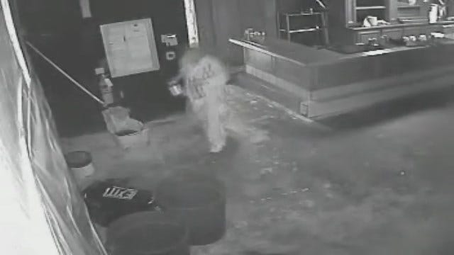 Caught On Camera: Thief Steals Alcohol From OKC Business
