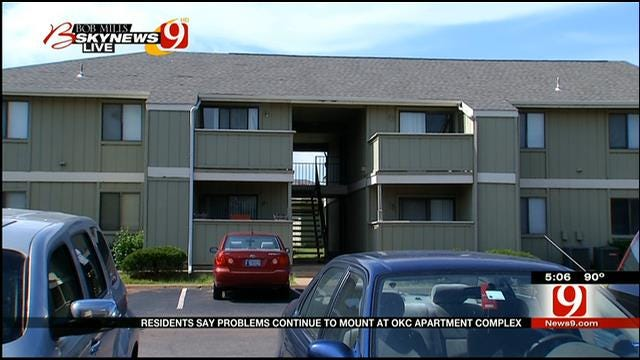 Residents Blast NW OKC Apartment Complex For Maintenance Issues